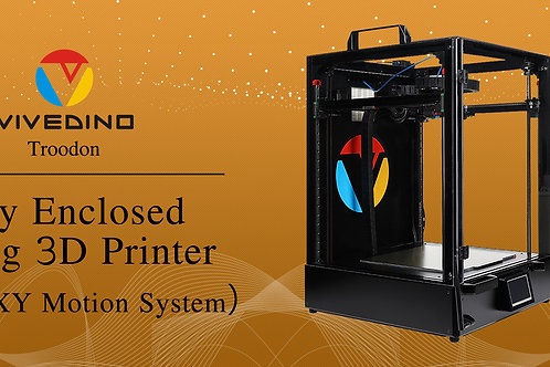 VIVEDINO CORE XY Fully Enclosed 3D Printer Troodon 400X400X500