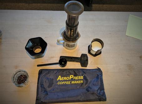 Aeropress Brewing- Daniels go-to brew method