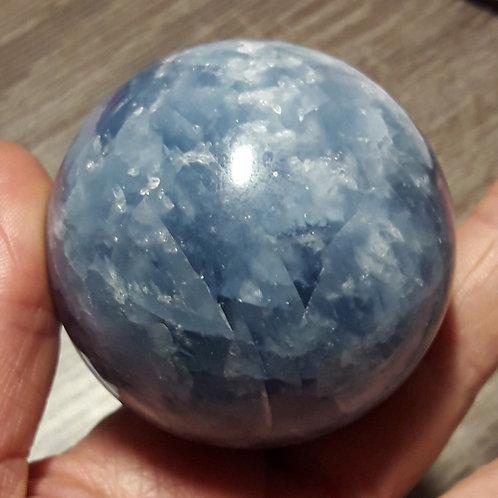 Calcite bleue 55 mmm de diamètre