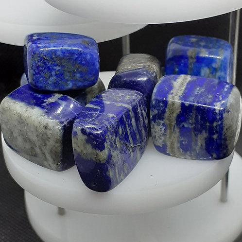 Lapis lazuli en pierre roulée