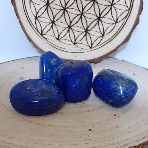 Lapis lazuli en pierre roulée 34 à 38 g