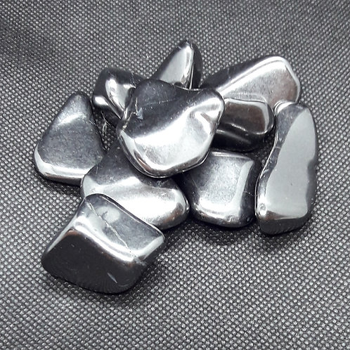 shungite, pierre roulée