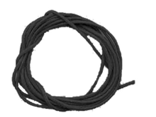 Cordon ciré noir 1mm