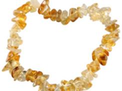 Bracelet en citrine naturelle