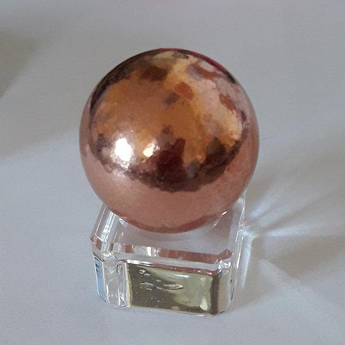Sphère en cuivre de 30 mm