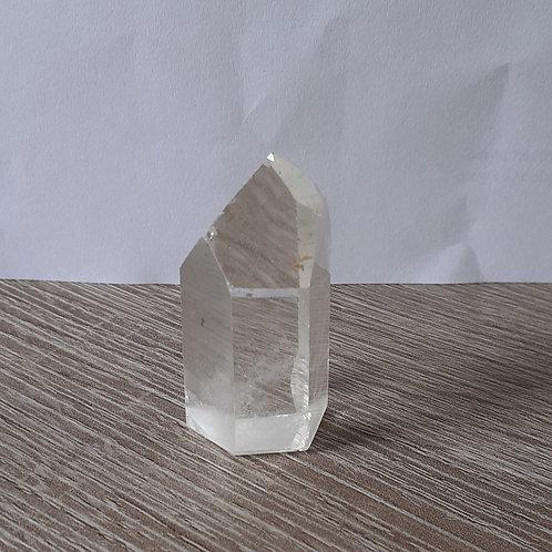 Petit prisme de Cristal de Roche (pointe de Cristal)