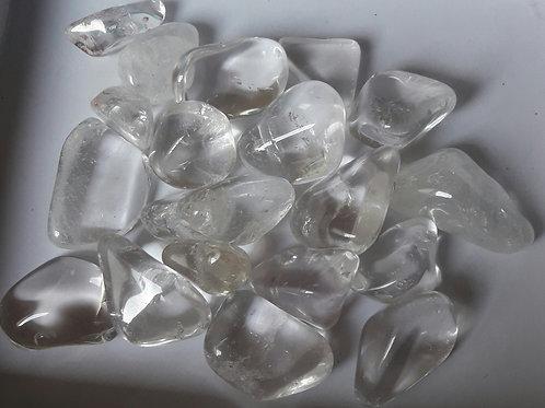 Cristal de roche, pierre roulée