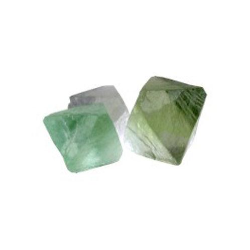 Fluorite octaèdre verte