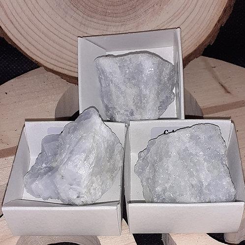 Calcite Bleue pierre brute