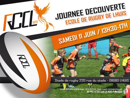 Le Rugby, un sport d'exception! CréaPUB sera partenaire Rugby Club du Canton de Lhuis