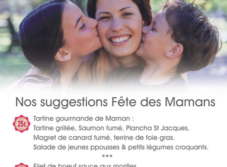 Spécial Fête des Mamans