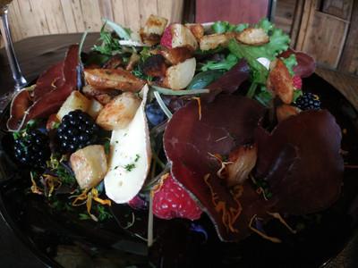 Assiette du berger - Restaurant le Refuge - Cordon 74