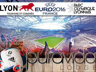J-14 pour le premier match euro 2016 à LYON !  A seulement 30 minutes du stade en séjournant à Purav