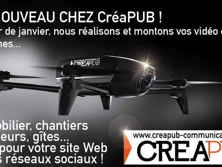 NOUVEAUTE 2018 CréaPUB !