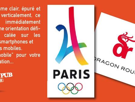 Logo officiel PARIS 2024. Un jeune créatif de 24 ans semble-t-il... (24ans/2024,20h24)