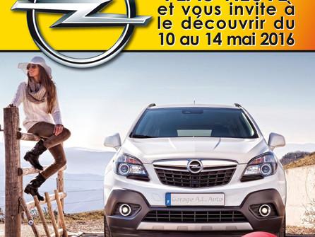 Découverte après travaux de votre agent Opel - A.L.Auto à Ambutrix