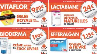 pharmacie SERRIÈRES de BRIORD à chaque mois sa promo !