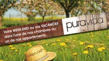 WEEK-END campagne PuraVida LODGE dans la région de Pérouges, des grottes de La Balme et de la ViaRhô