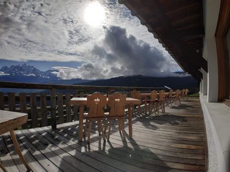 Balcon du Mt Blanc - Restaurant le Refuge - Cordon 74