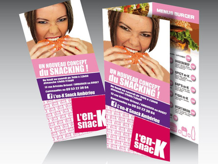 Changement de peau pour L'en-K snack Ambérieu en Bugey
