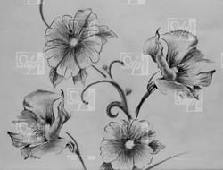 SDP Tattoo - Fleurs01