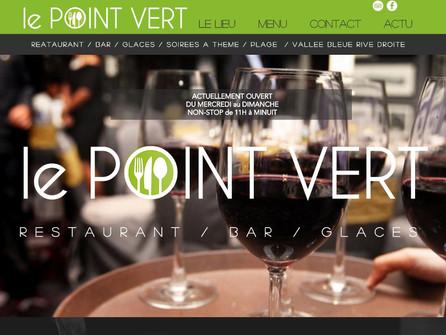 Nouveau client local : Restaurant LE POINT VERT à Serrières de Briord
