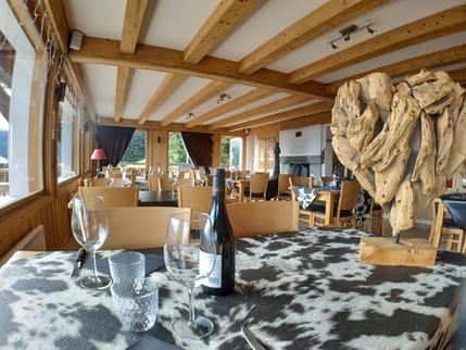 Grande salle panoramique - Restaurant le Refuge - Cordon 74