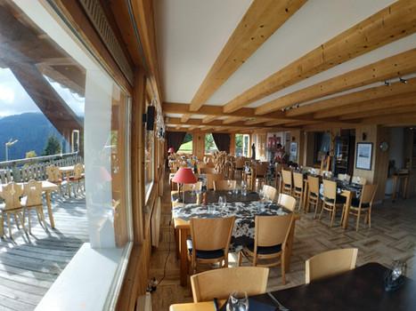 Vue panoramique - Restaurant le Refuge - Cordon 74