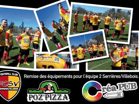 CréaPUB sponsor du FCSV 2016