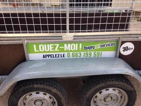 Louer remorque BUGEY NET Srevices
