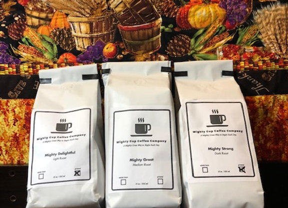 3 Bags of Mighty Cup Coffee for $45