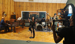 Recording Save Your Love music video