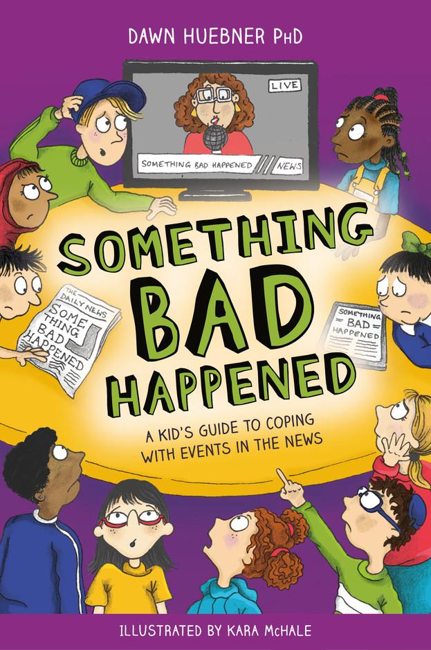 Huebner - Something Bad Happened - Cover