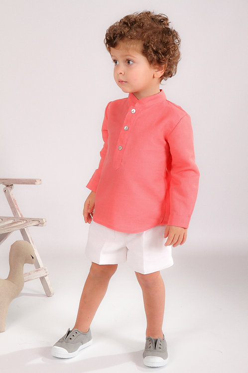 Total Look Niño Coral