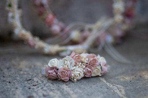 Tocados de flor seca