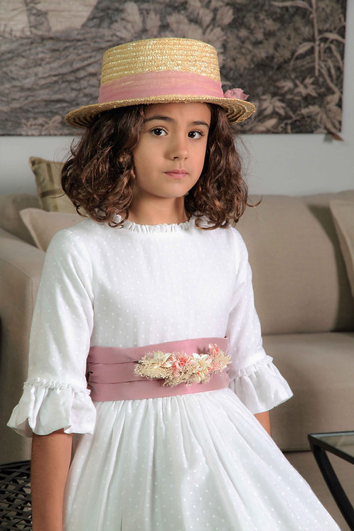 Vestido de Comunión Rosario