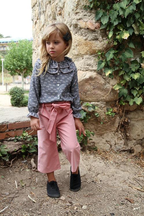 Pantalón Midi Rosa