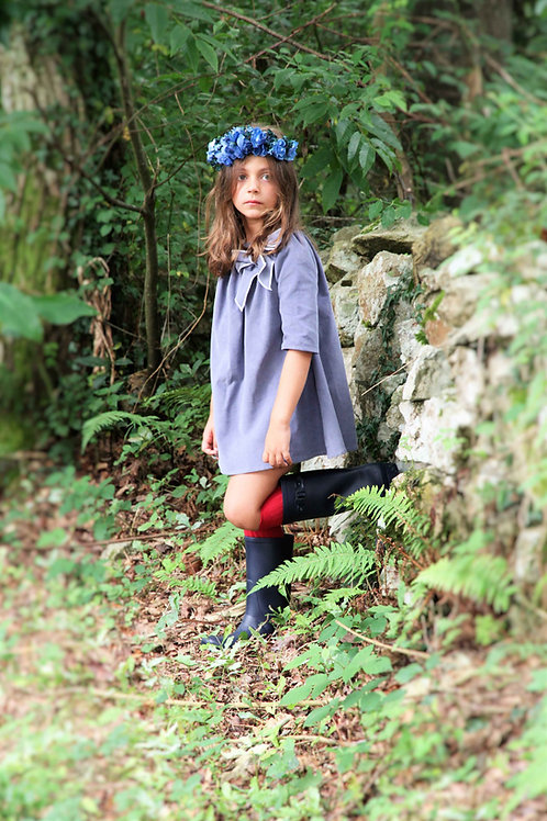 Vestido Calandra azul