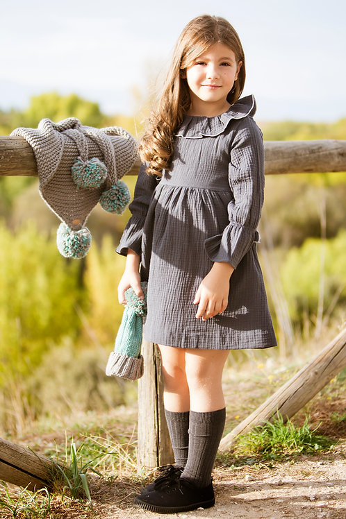 Vestido Cerem Bambula Gris