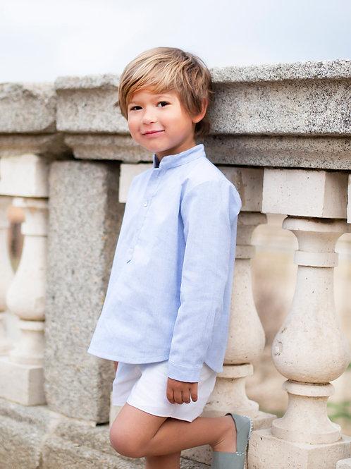 Camisa MAO algodón azul