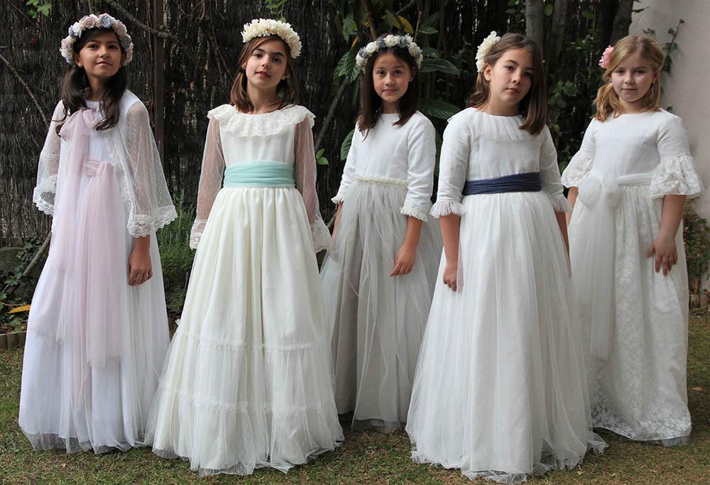 vestido comunión Ana