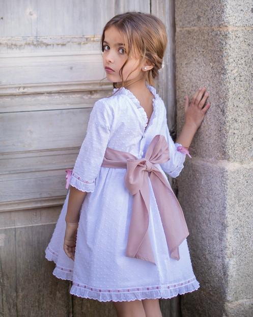 1e0593cc7 Vestido plumeti espalda V rosa