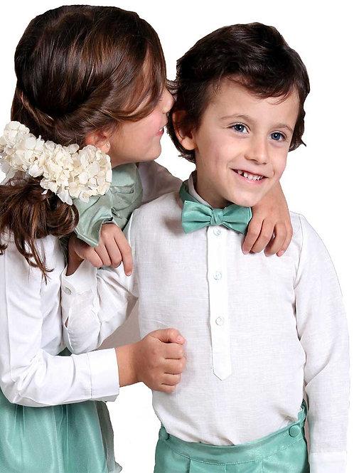 Traje de arras C16111 - Niños de arras con pajarit