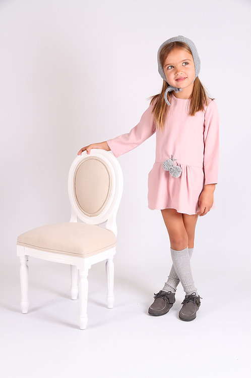 Vestido Charleston Rosa