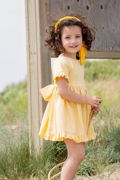 Vestido Rose Arpi Amarillo