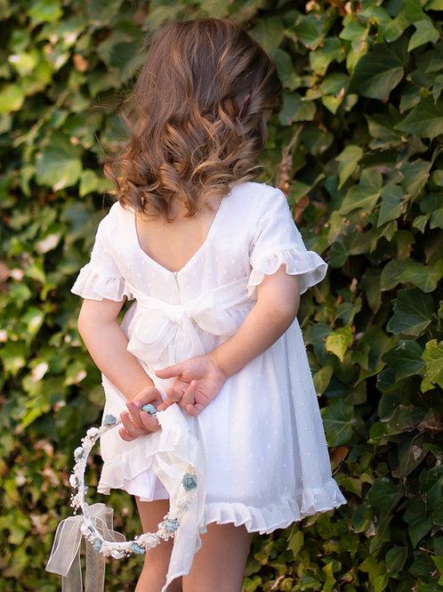 Vestido Rose gasa de plumeti