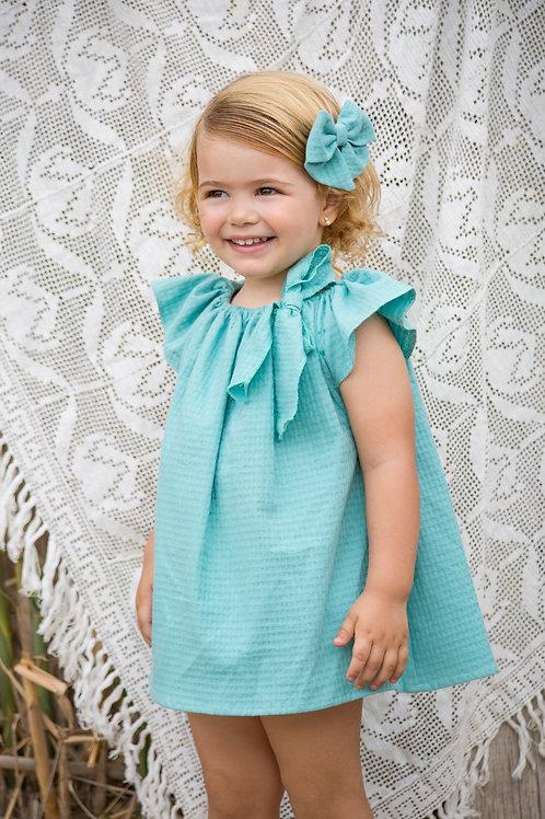 Vestido Calandra arpi verde