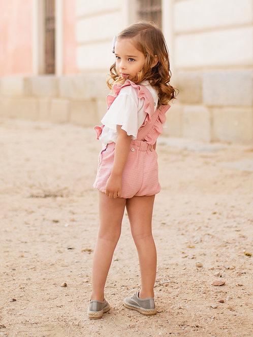 Short Alitas rosa
