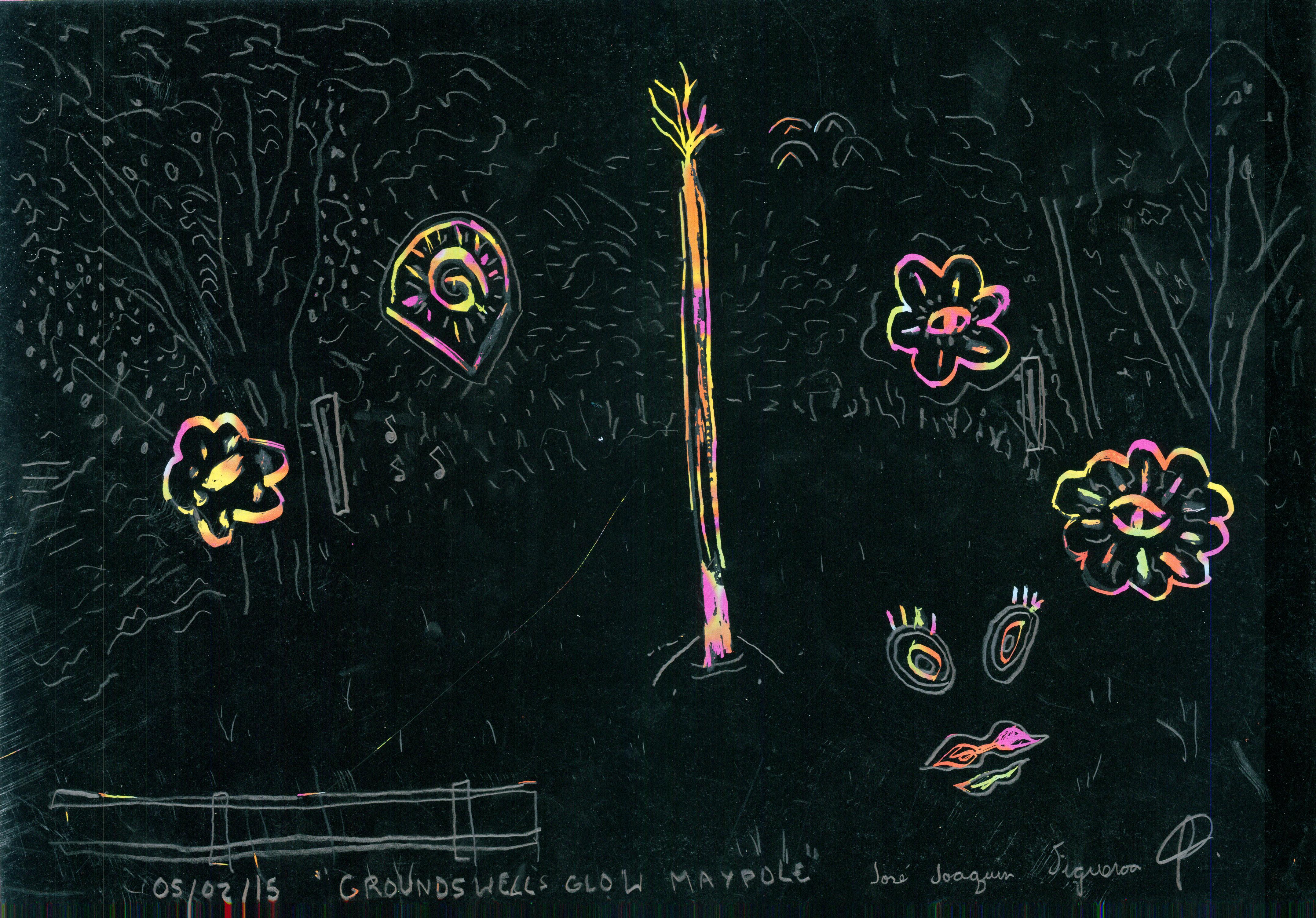 05-02-15 _Groundswells Glow Maypole_