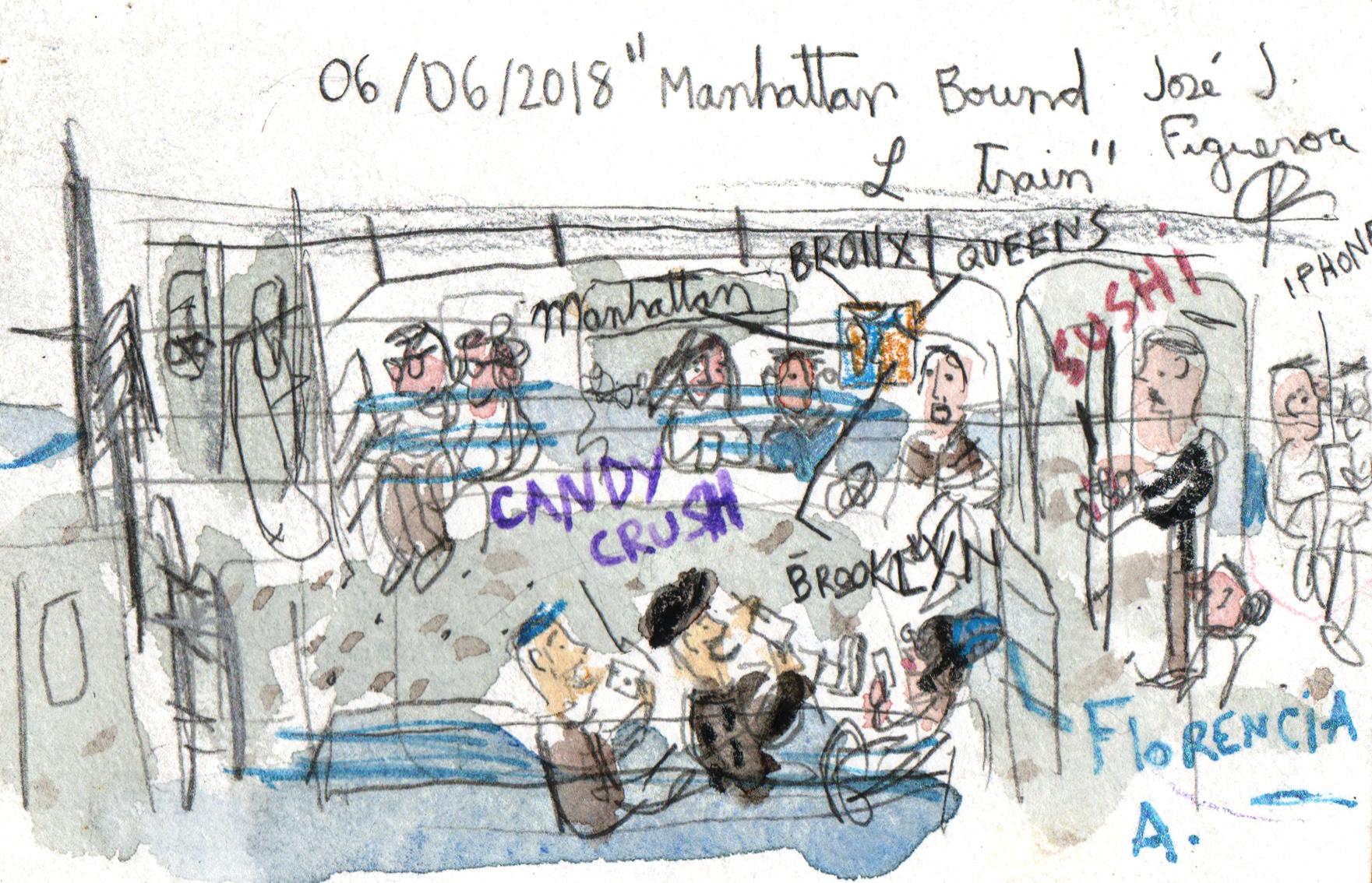 06-06-2018 manhattan bound l train